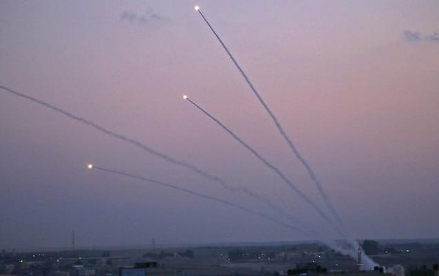 gaza rockets protests attack